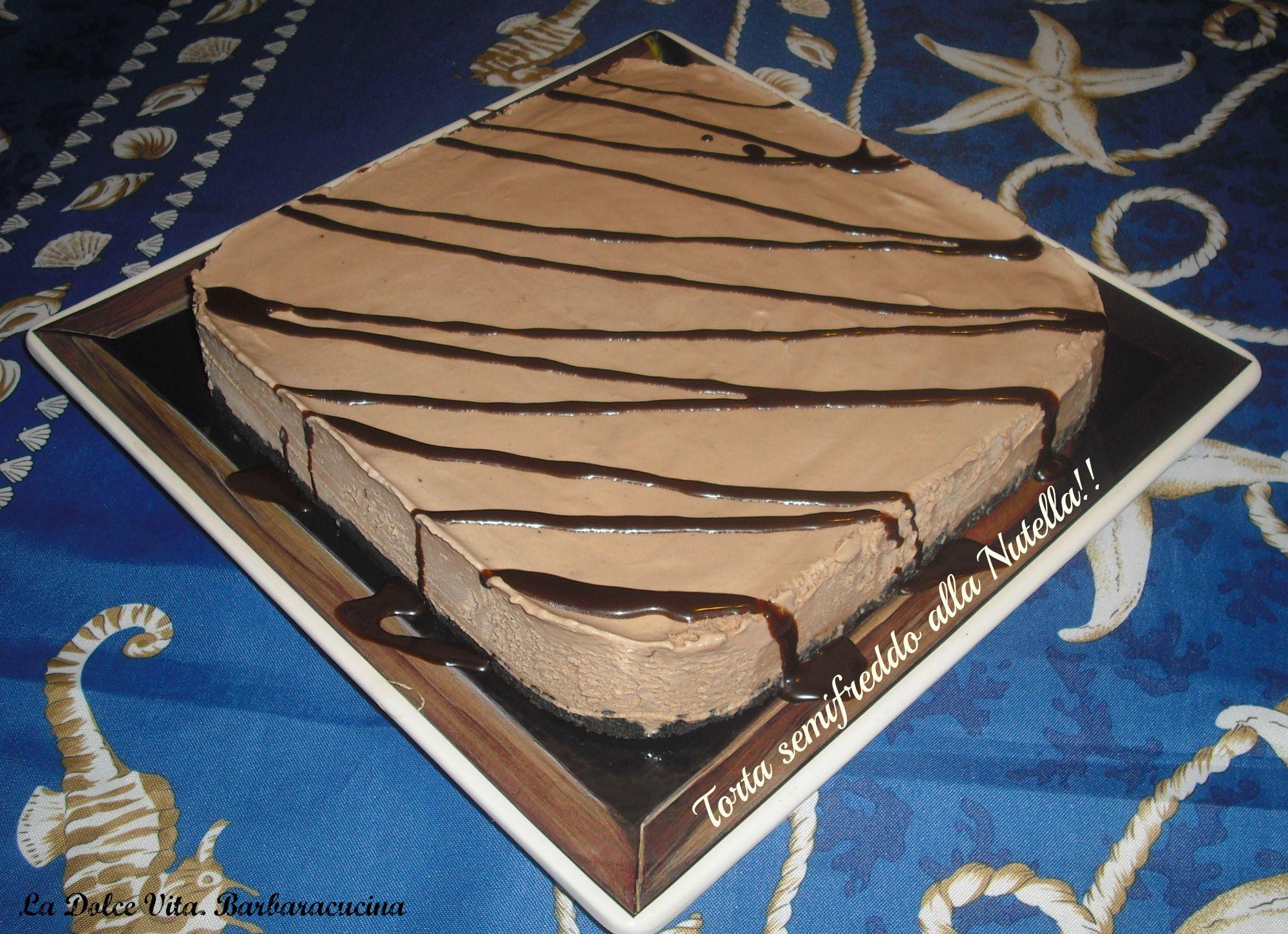 torta semifreddo alla nutella 1