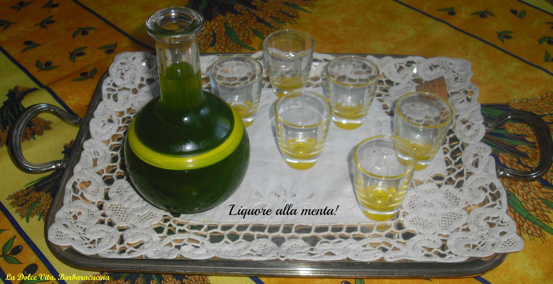liquore alla menta 3