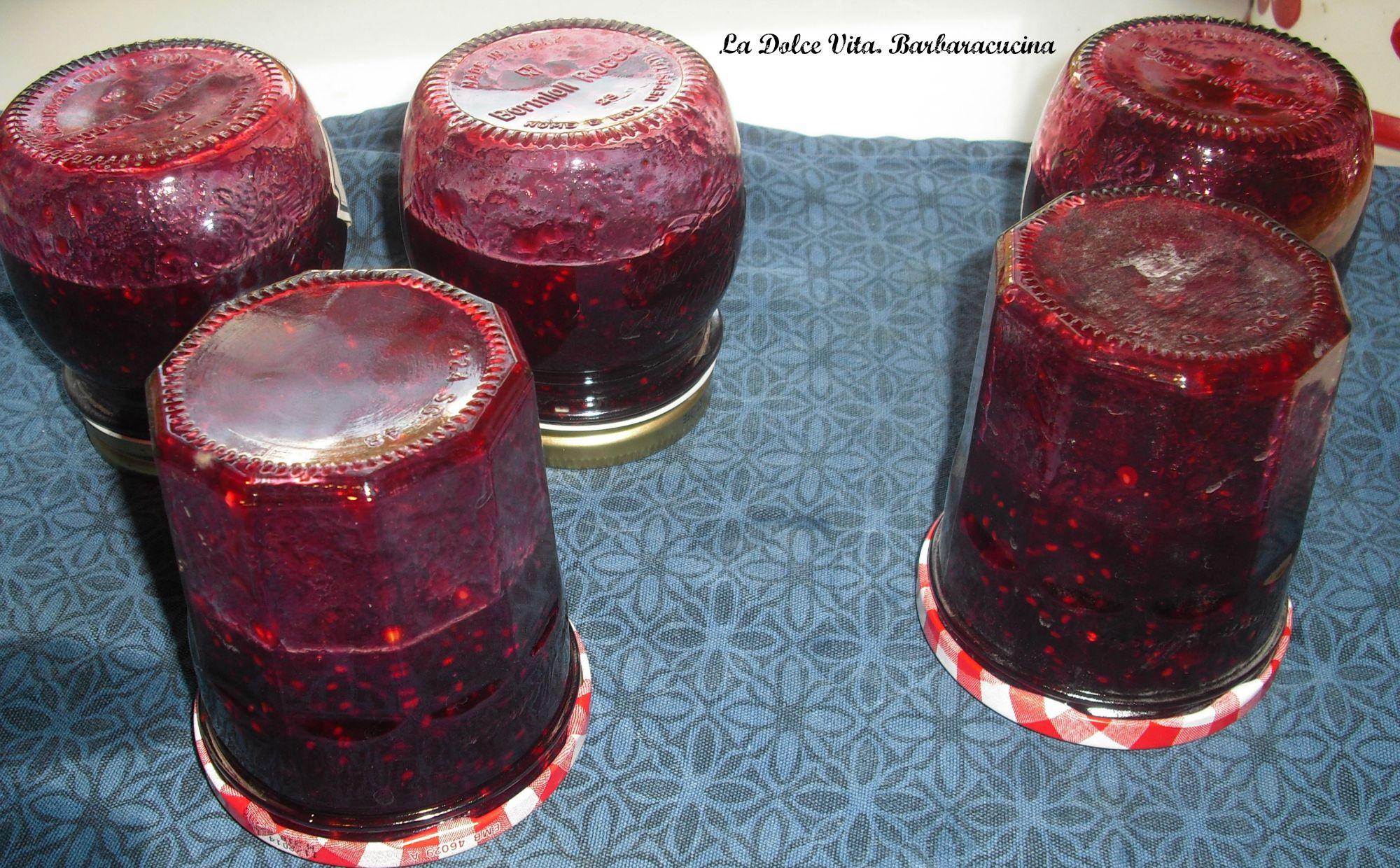 marmellata ai frutti di bosco 2