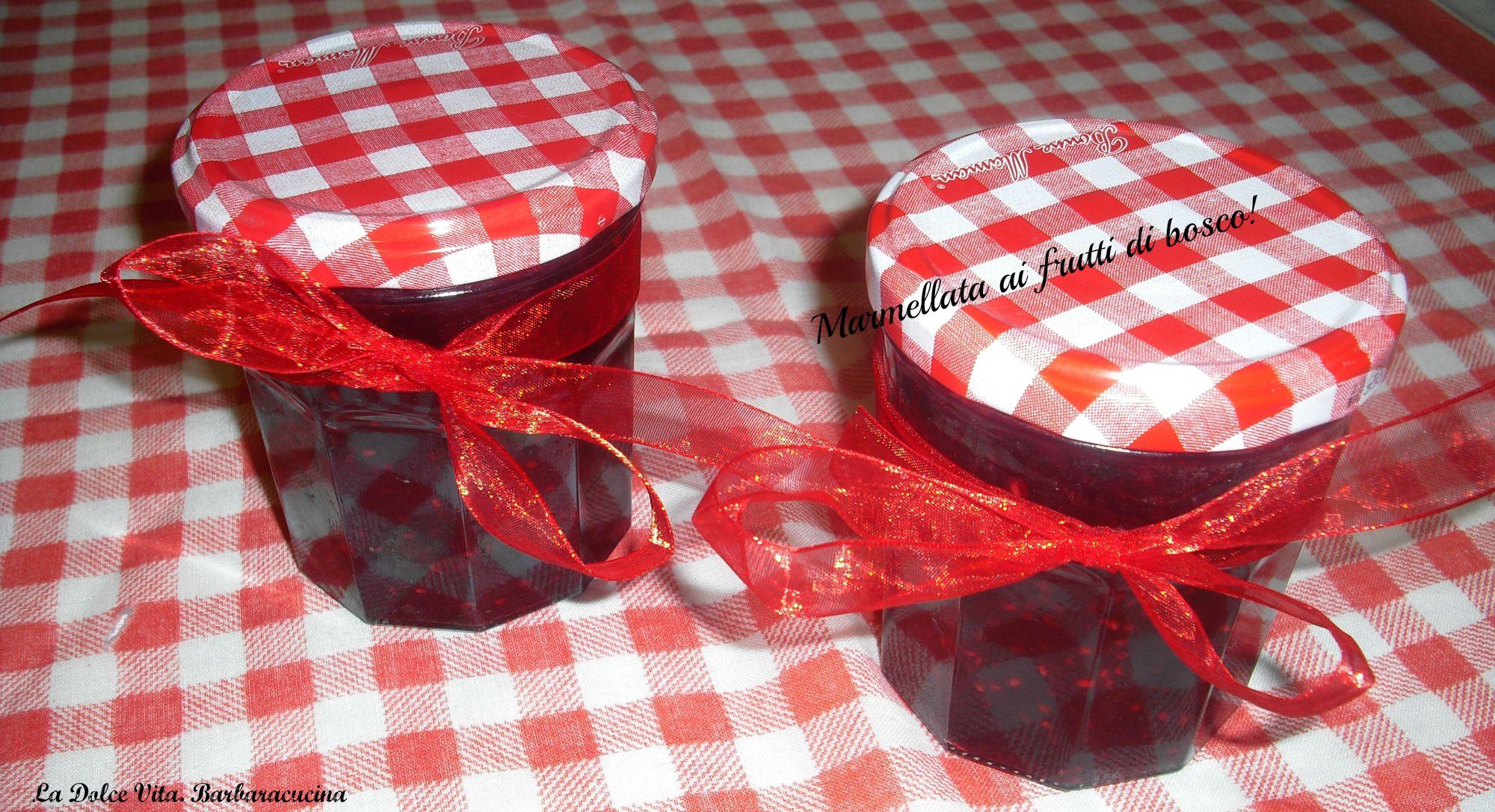 marmellata ai frutti di bosco 3