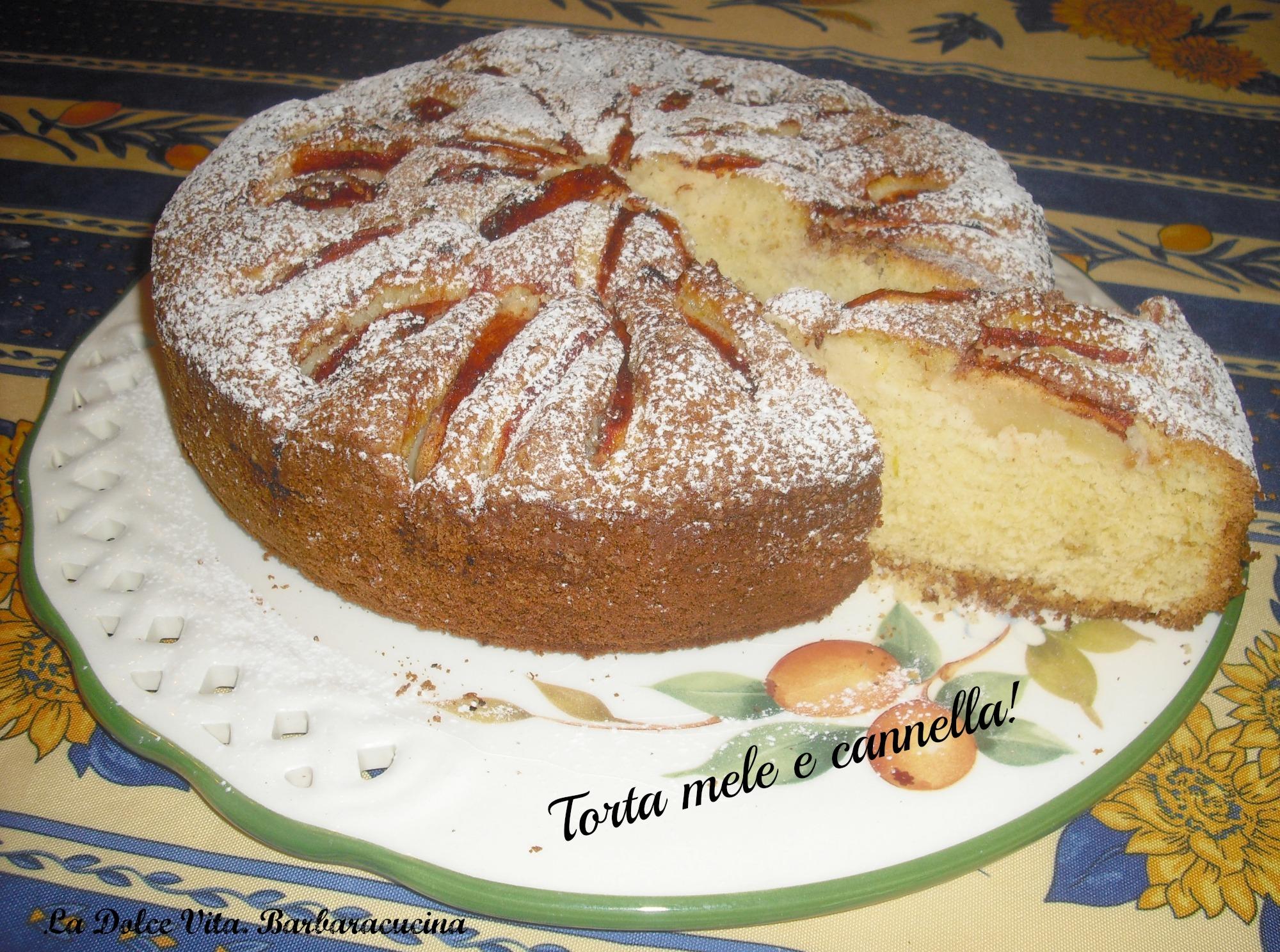Torta mele e cannella soffice!