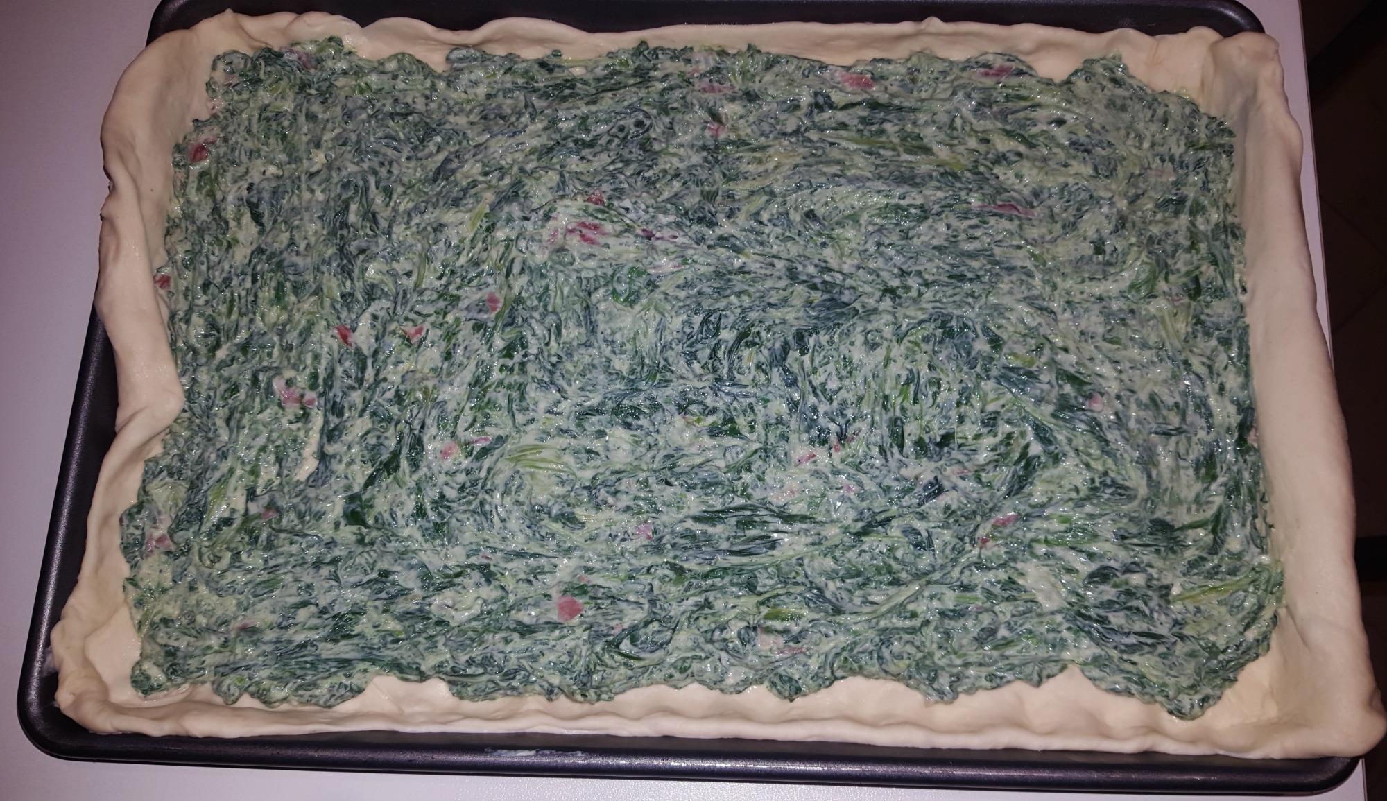 rustico agli spinaci 1
