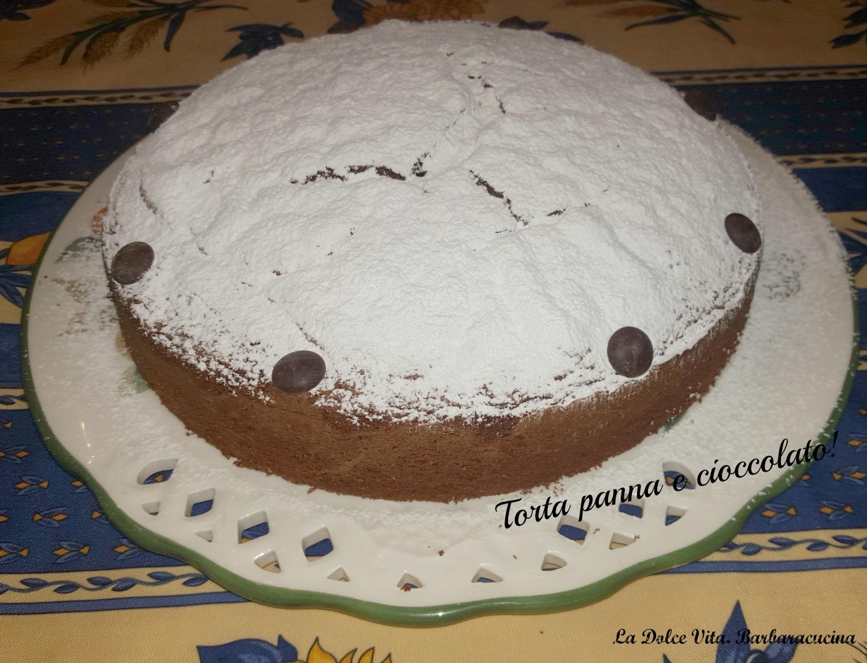 torta panna e cioccolato 2