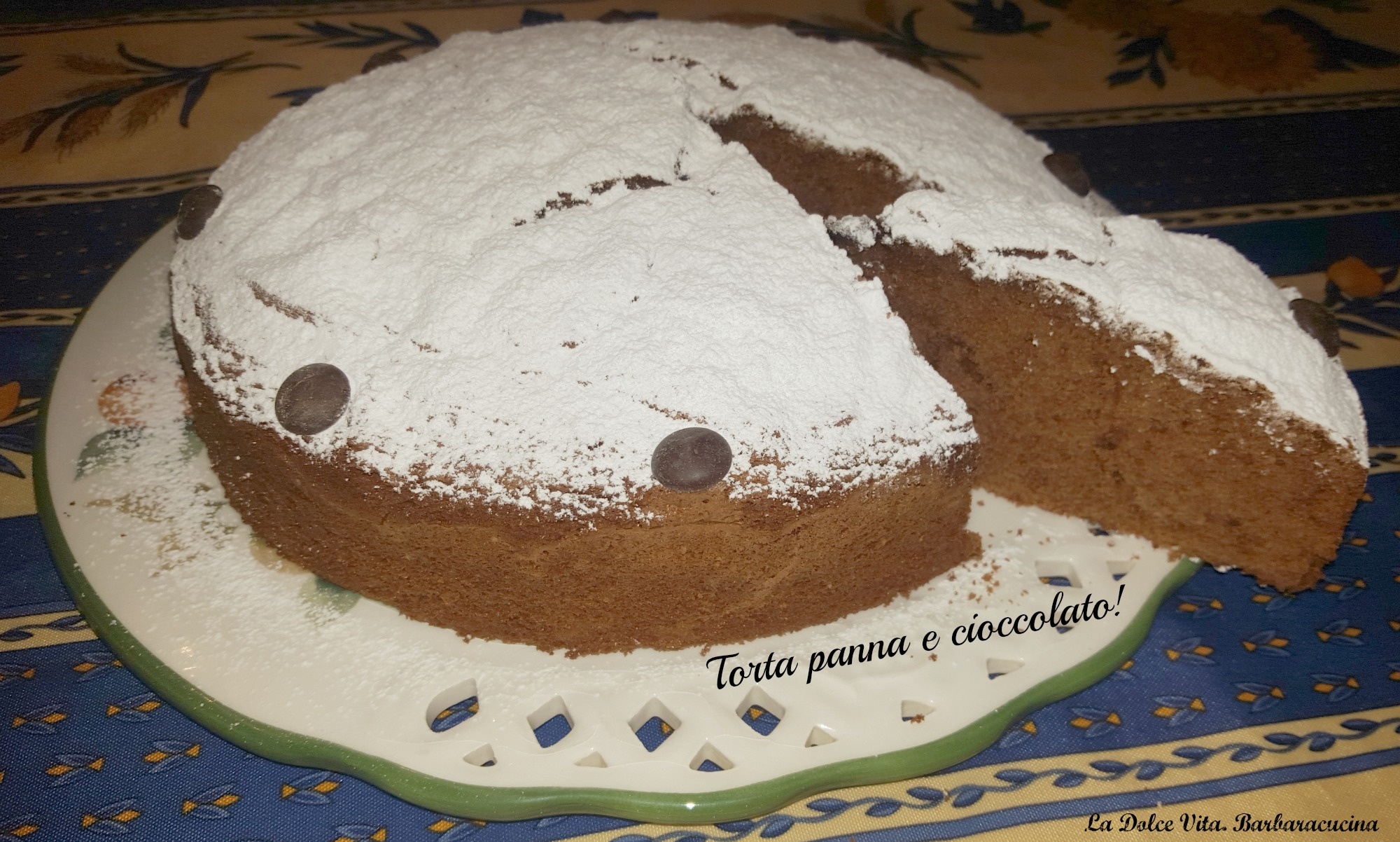 torta panna e cioccolato 3