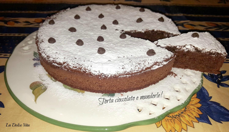 torta cioccolato e mandorle 2