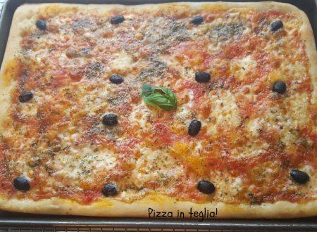 Pizza in teglia deliziosa!