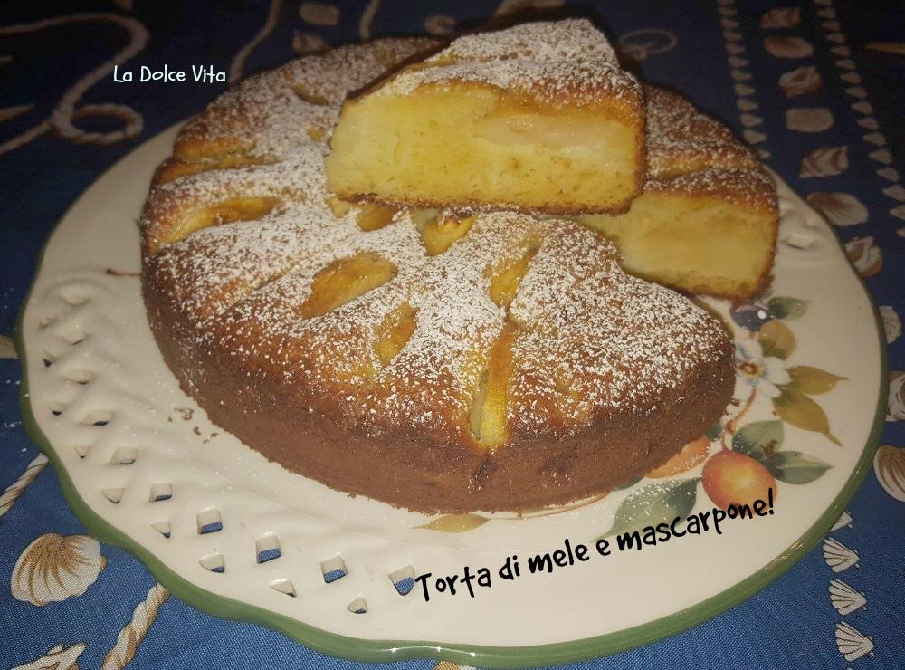 torta di mele e mascarpone 2