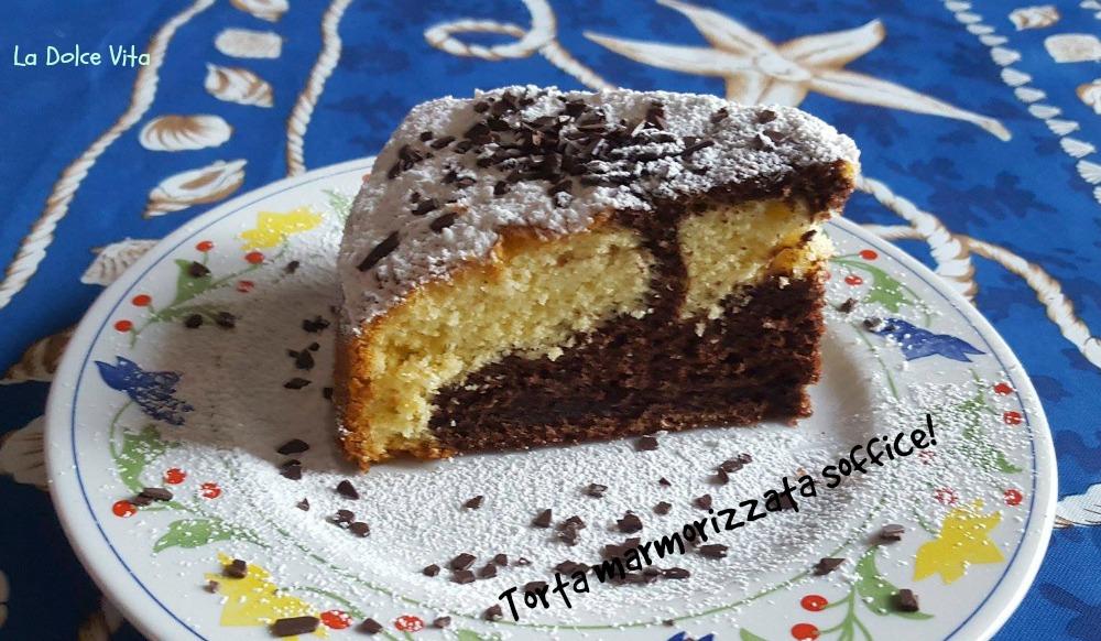 Torta marmorizzata sofficissima!