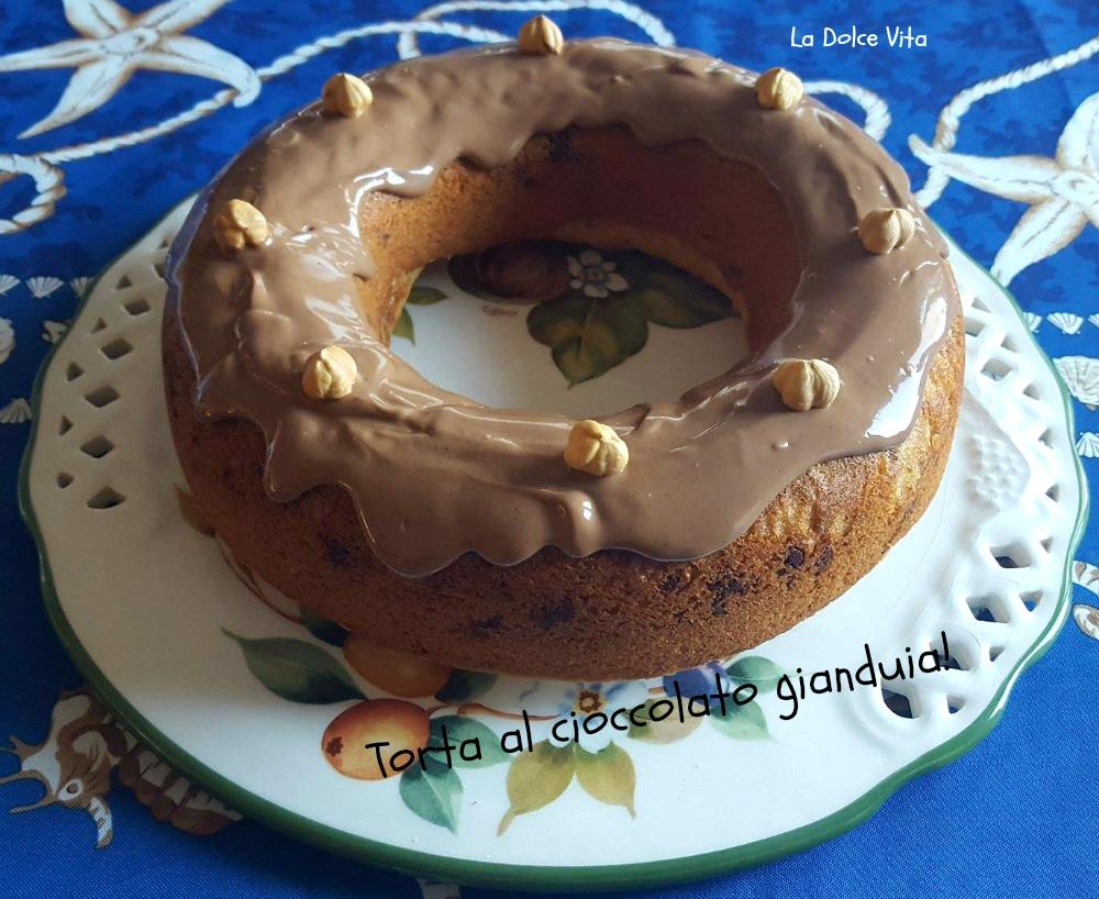 torta al cioccolato gianduia 2