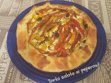 torta salata ai peperoni 1