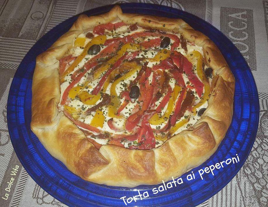 torta salata ai peperoni 2
