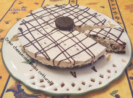 Oreo cheesecake ricetta senza cottura