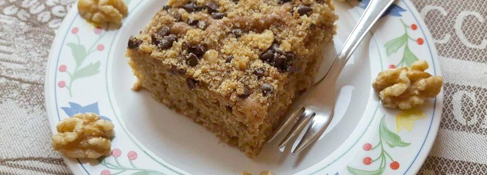 Torta speziata alle noci e cioccolato!