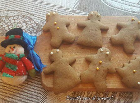 Biscotti pan di zenzero (gingerbread cookies)