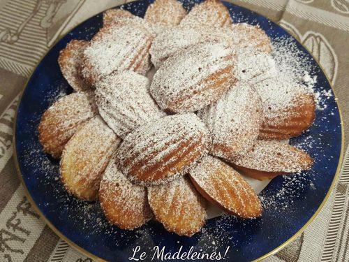 Madeleines al limone ricetta francese