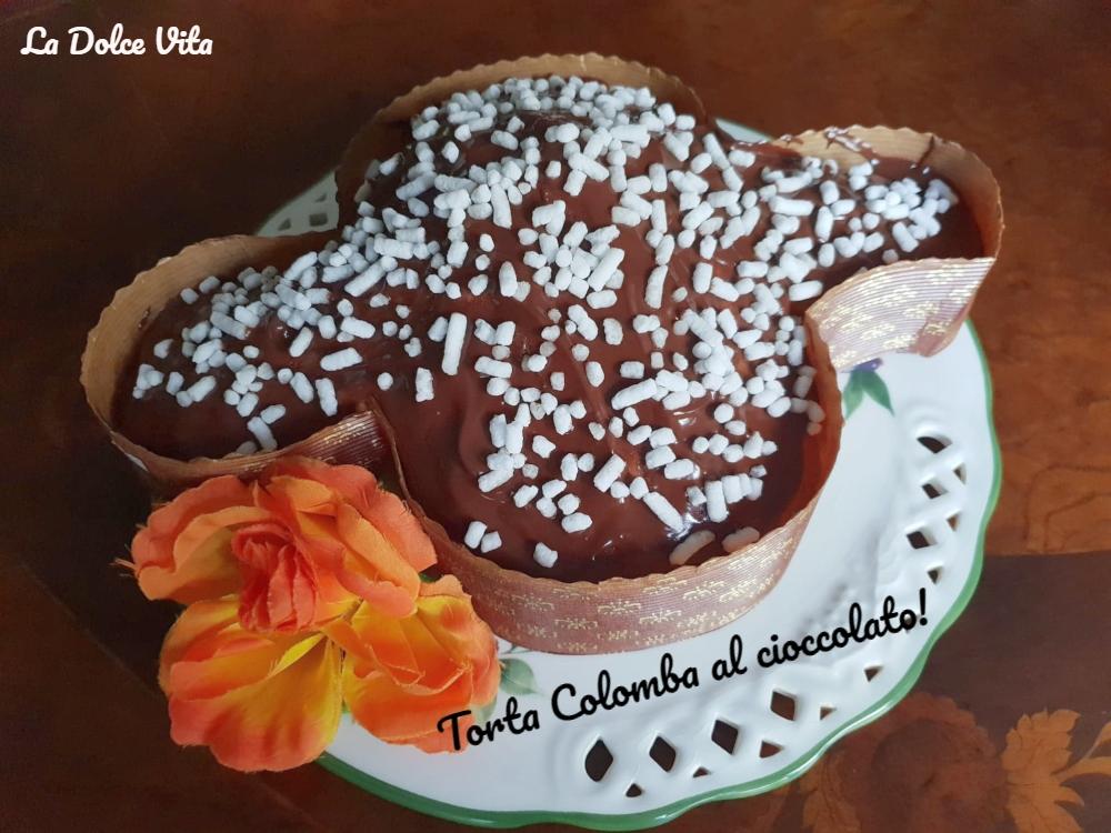 Torta colomba al cioccolato!