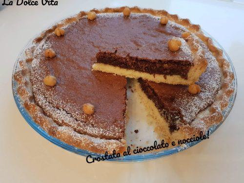 Crostata al cioccolato e nocciole!