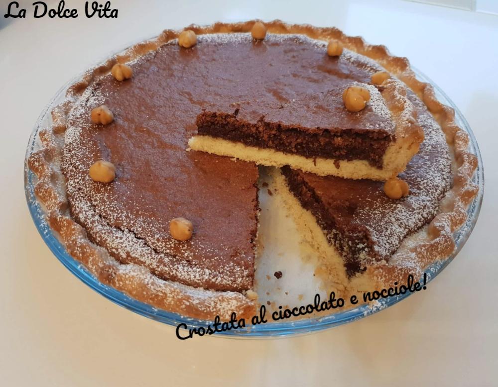 Crostata al cioccolato e nocciole 3