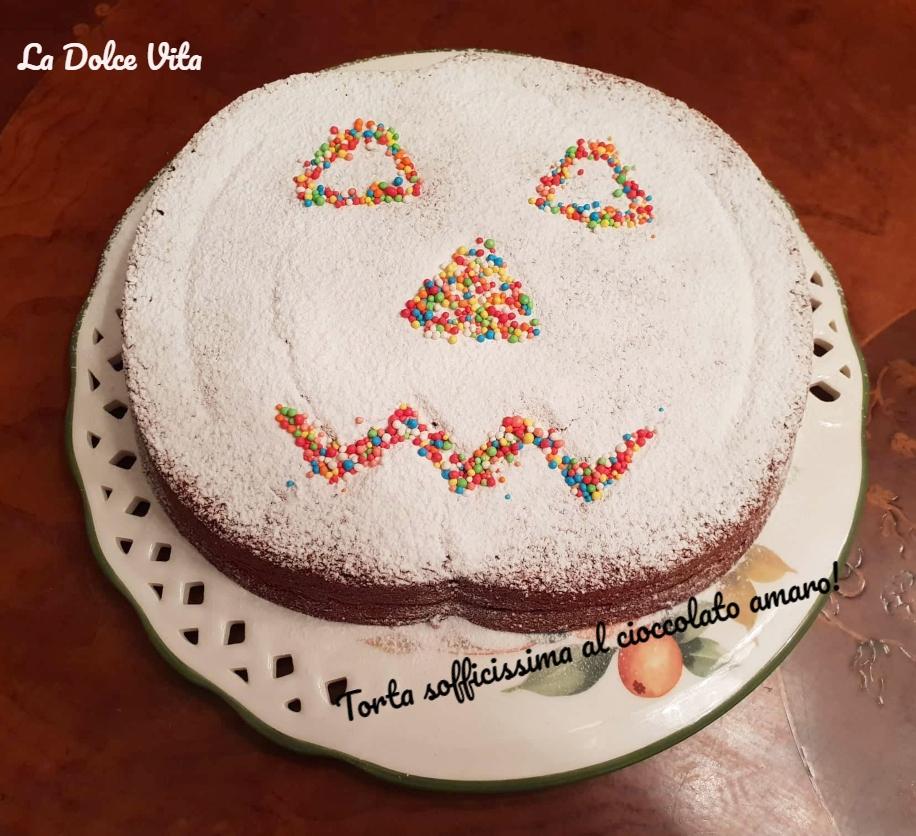 Torta sofficissima al cioccolato amaro 2