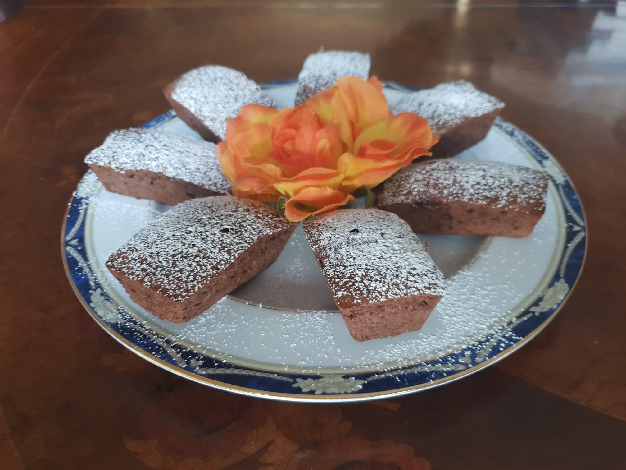 mini plumcake al cioccolato