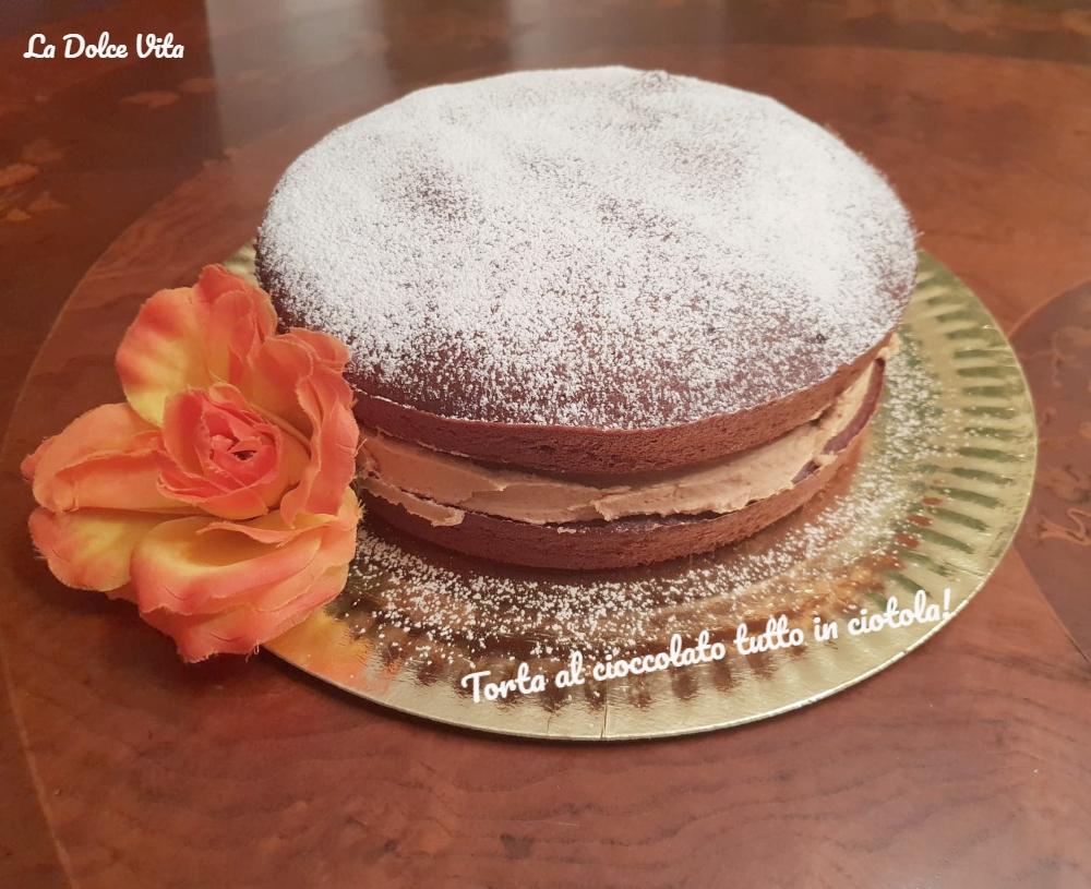 torta al cioccolato tutto in ciotola 1