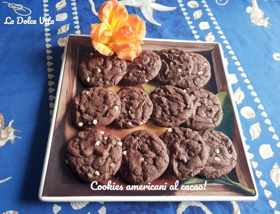 cookies americani al cacao 4