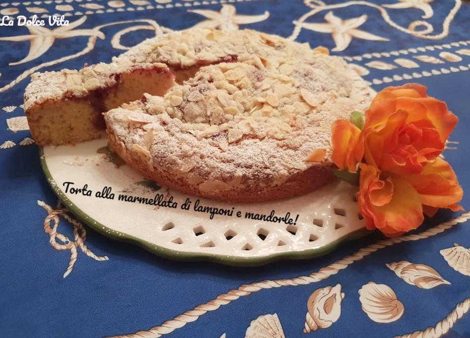 torta alla marmellata di lamponi 4