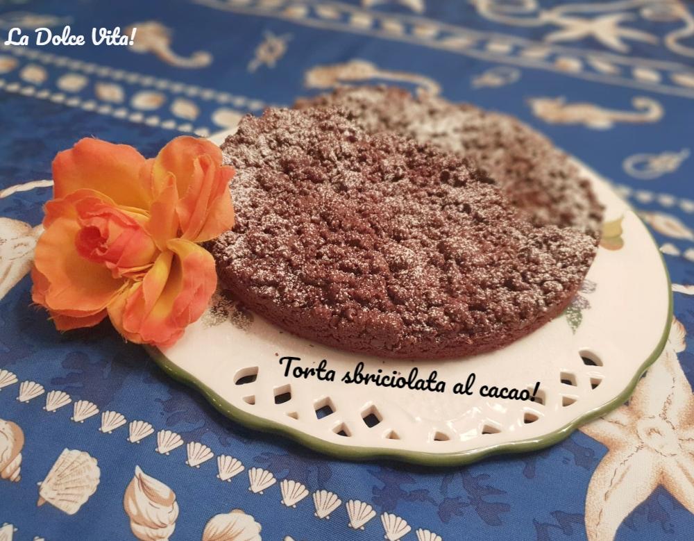 torta sbriciolata ala cacao 2