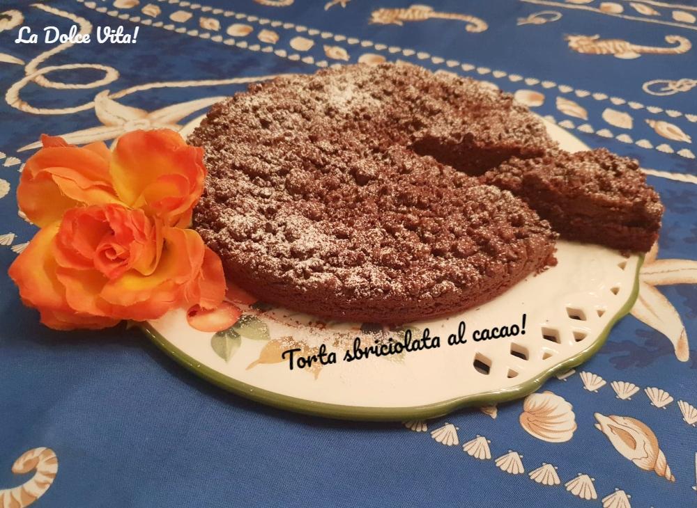 torta sbriciolata al cacao 3