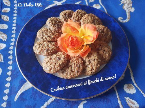 Cookies americani ai fiocchi di avena!