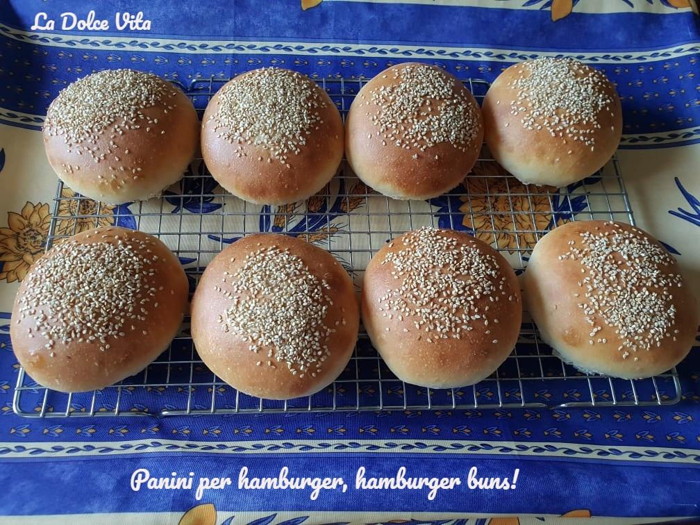 Panini per hamburger 4