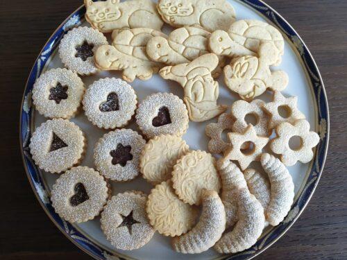 Biscotti di pasta frolla alle nocciole!