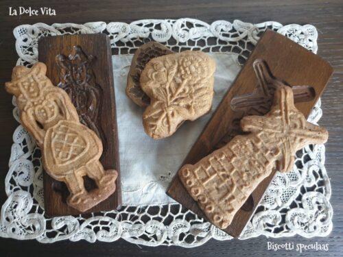 Biscotti speculaas, biscotti olandesi alle spezie!