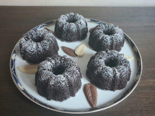 Mini bundt cake al cacao e caffè!