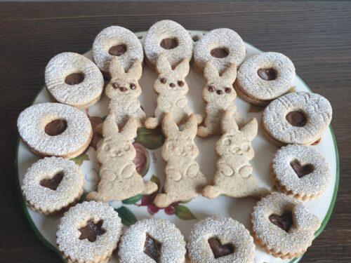 Biscotti di pasta frolla alle tre farine!