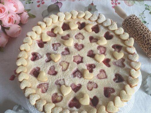 Crostata con fragole mascarpone e ricotta!