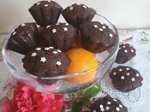 Muffin al cioccolato e arancia super soffici!
