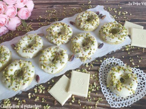 Ciambelline al pistacchio e yogurt sofficissime!