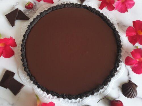 Crostata al cioccolato senza cottura!