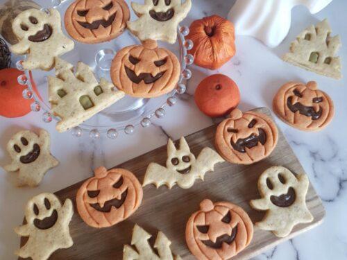 Biscotti di Halloween con frolla alle nocciole!