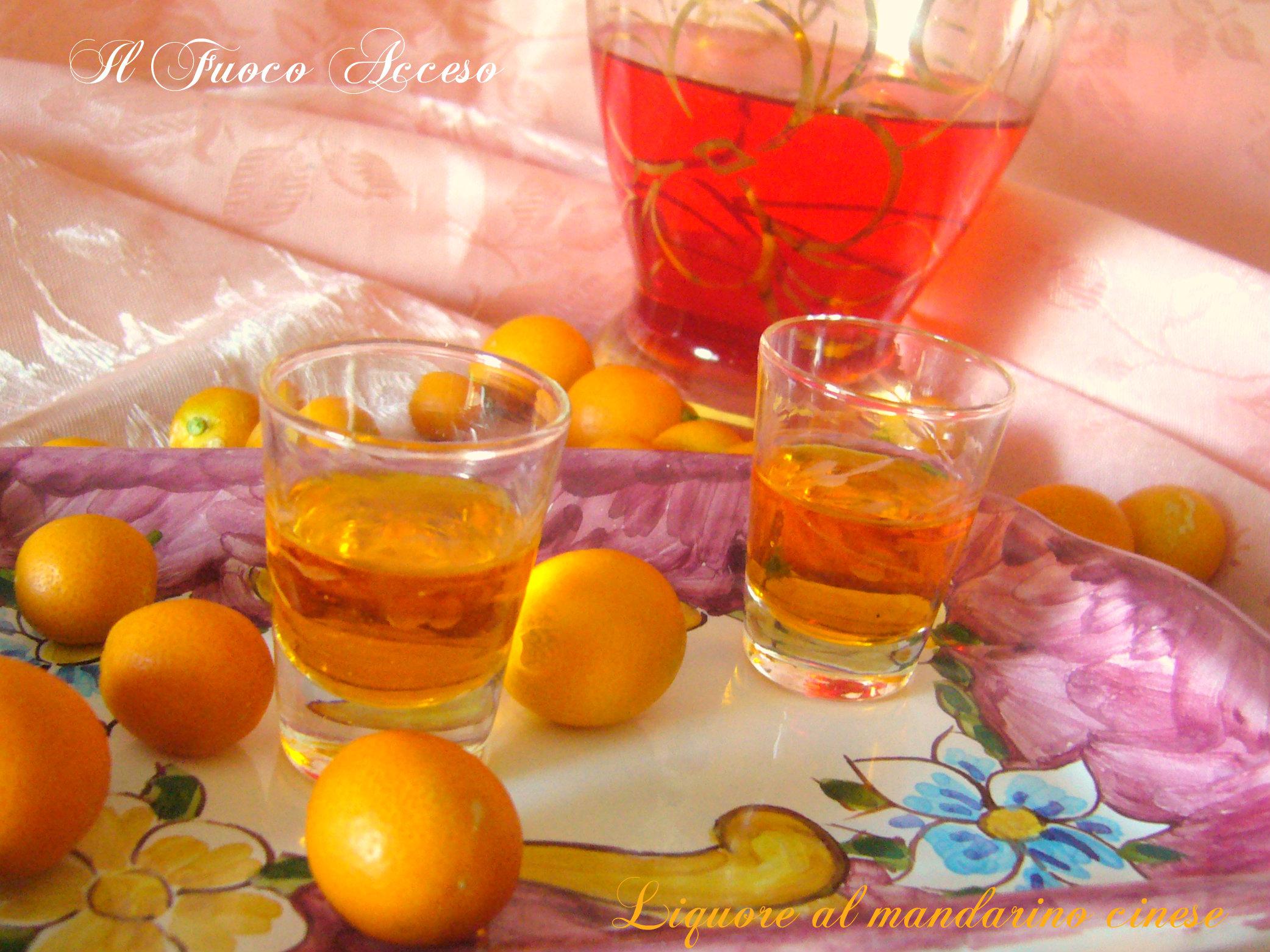Liquore al mandarino cinese