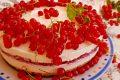 Cheesecake ai ribes