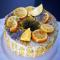 Angel cake al tè verde e semi di papavero