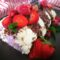 Pavlova roll cake ai frutti di bosco