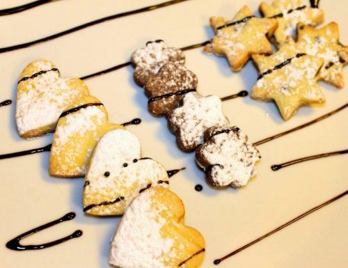 Tris di biscotti dolcetti saporiti multigusto