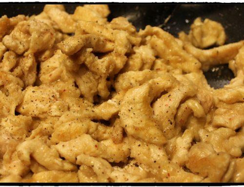 Straccetti di pollo al Marsala
