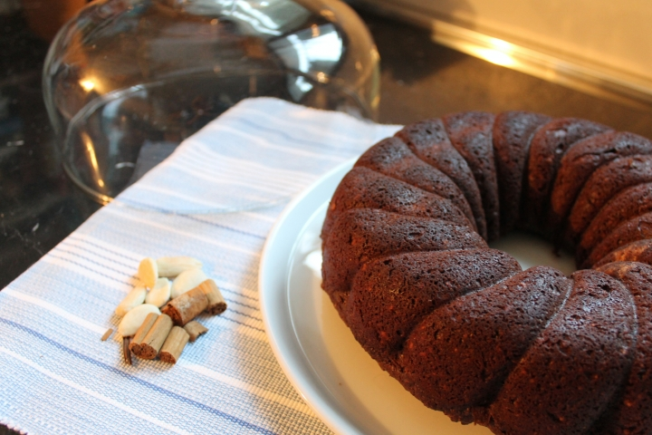 torta cioccolato mandorle e cannella