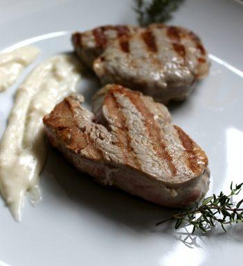 Filetto di Vitello con salsa al taleggio