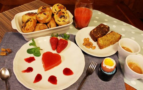 Una colazione speciale