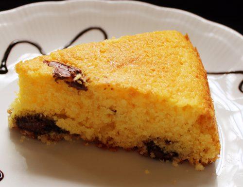 Torta morbidissima formaggio spalmabile e cioccolato